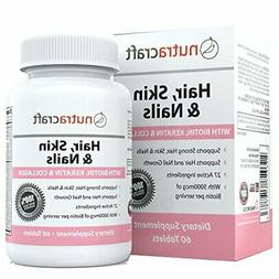 1 hair skin and amp nails supplement