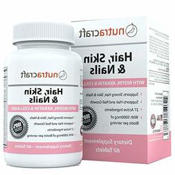 1 hair skin and nails supplement