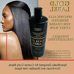 GOLD Label Keratin Blowout Treatment 240ml for Dominican & A