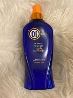 IT'S A 10 Miracle Leave-In Plus Keratin 10 Oz. Bottle NEW! P