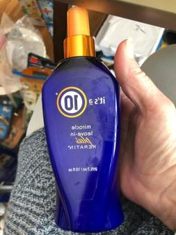 Its a 10 miracle leave in plus keratin 10 oz NEW