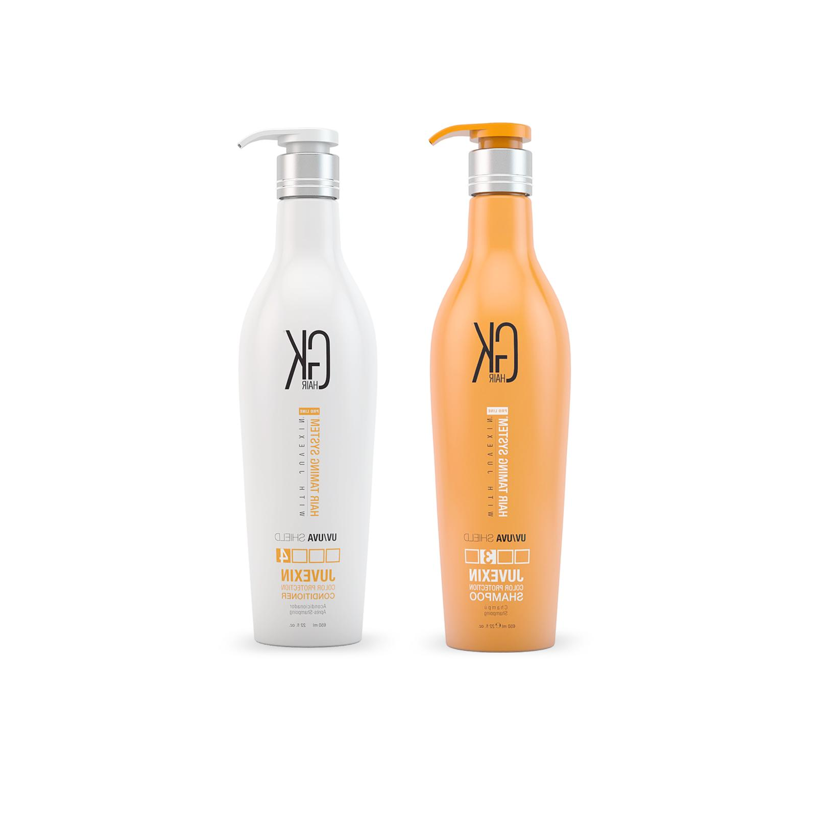 gkhair juvexin shield shampoo and conditioner set