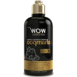 WOW Activated Charcoal & Keratin Shampoo - Scalp Detox Clean